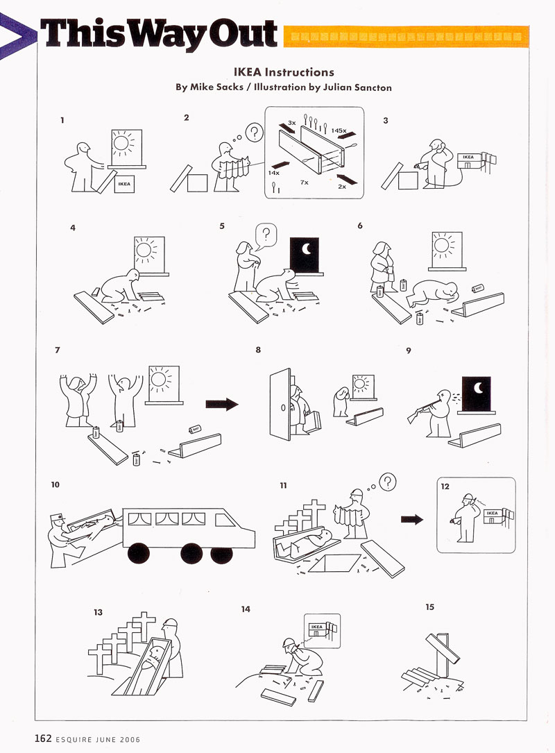 Mikesacks 187 Ikea Instructions